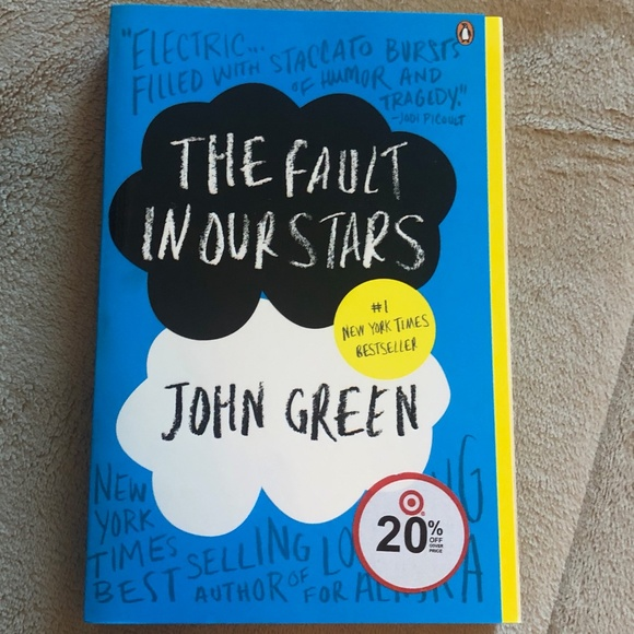 The Fault In Our Stars Book- John Green